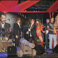 Johnny Hallyday et Dave Stewart