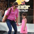 Katie Holmes et Suri Cruise dans les rues de New York, le 15 juillet 2012