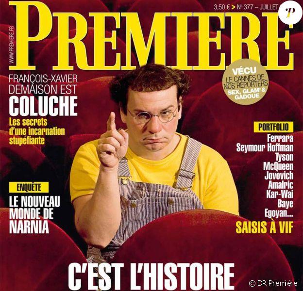 François-Xavier Demaison en Coluche