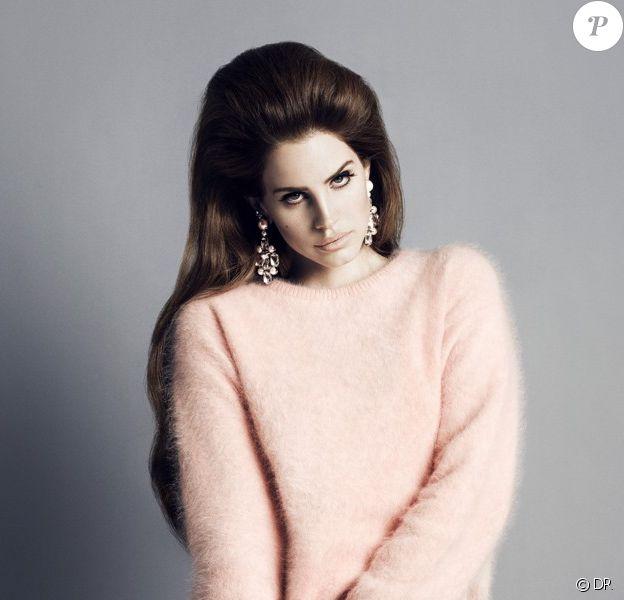Lana Del Rey photographiée par Inez et Vinoodh pour la campagne automne 2012 de H&M.