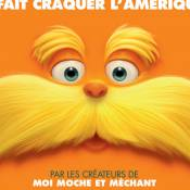 La moustache du Lorax chatouille Catherine Frot et Alice Taglioni