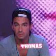 Thomas dans la quotidienne de Secret Story 6 sur TF1 le jeudi 19 juillet 2012