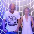 Kevin et Virginie dans la quotidienne de Secret Story 6 sur TF1 le jeudi 19 juillet 2012