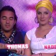 Nadège et Thomas dans la quotidienne de Secret Story 6 le jeudi 19 juillet 2012 sur TF1