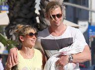 Elsa Pataky et Chris Hemsworth: Derniers jours avec la petite India avant Thor 2