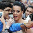 Katy Perry à Londres, le 3 juillet 2012.