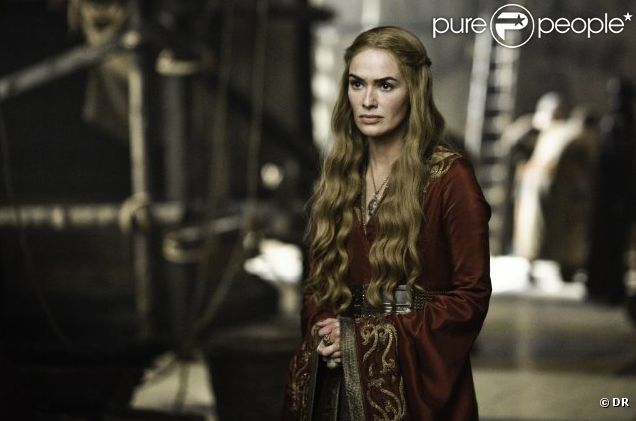 Lena Headey dans  Game of Thrones.