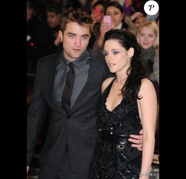 Robert Pattinson et Kristen Stewart à Londres en novembre 2011