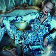 Amber Valletta héroïne de la campagne Pucci automne-hiver 2012-2013