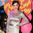La jolie Katy Perry à l'avant-première de son film Part of Me, à Rio de Janeiro au Brésil, le 30 juillet 2012