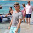 Nico Rosberg, perdu sur l'île de Formentera avec sa compagne Vivian Sibold le 2 août 2012