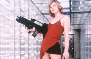 Milla Jovovich superstar de Resident Evil : 10 ans de baston en cuir