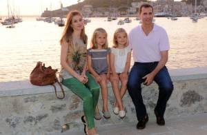 Letizia et Felipe avec Leonor et Sofia : Début des vacances de rêve à Majorque