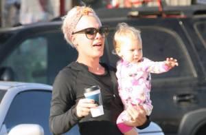 Pink : Tendre avec sa petite Willow mais très ferme avec les émissions de télé