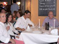 Rafael Nadal et sa Xisca ravis en terrasse avec le roi Juan Carlos à Majorque
