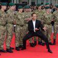 Jean-Claude Van Damme lors de l'avant-première à Londres du film Expendables 2 le 13 août 2012