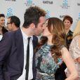 Rose McGowan, très amoureuse de son chéri Davey Detail, à Los Angeles, lors du TCM Classic Film Festival, le jeudi 12 avril 2012.