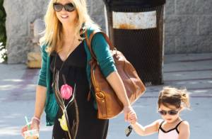 Sarah Michelle Gellar : enceinte et resplendissante avec sa fille Charlotte