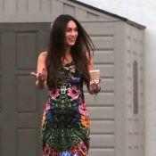 Megan Fox enceinte : Toujours sublime et sexy avec son ventre très rond