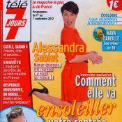 Alessandra Sublet, maman : 'J'ai quasiment perdu les 14 kilos que j'avais pris'