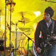 Noel Gallagher's High Flying Birds en concert au festival Rock en Seine, le 25 août 2012.
