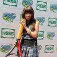 Carly Rae Jepsen lors du 17e Arthur Ashe Kids' Day au USTA Billie Jean King National Tennis Center in Flushing Meadows à New York le 26 août 2012