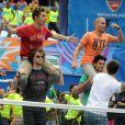 The Wanted lors du 17e Arthur Ashe Kids' Day au USTA Billie Jean King National Tennis Center in Flushing Meadows à New York le 26 août 2012
