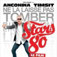 Affiche du film Stars 80 avec Cookie Dingler
