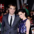 Robert Pattinson et Kristen Stewart en novembre 2011 pour la promotion de Twilight - Révélation : chapitre 2 : (1re partie)