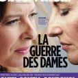 Le Nouvel Observateur , en kiosques le 30 août 2012, publie des extraits du livre de Sylvain Courage,  L'Ex , sur le trio formé par Ségolène Royal, Valérie Trierweiler et François Hollande.