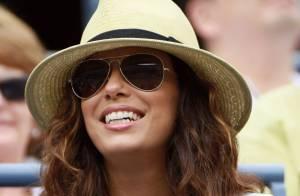 US Open - Serena Williams : Eva Longoria estivale pour encourager son amie