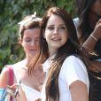 Lana Del Rey le 10 juillet 2012 à Los Angeles