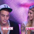 Julien et Fanny dans la quotidienne de Secret Story 6 le mercredi 5 septembre 2012 sur TF1
