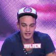 Julien dans la quotidienne de Secret Story 6 le mercredi 5 septembre 2012 sur TF1