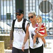 Pink, en famille à Paris : Son mari et sa fille Willow en profitent à fond !