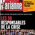Le magazine Marianne du 8 septembre 2012