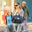 Sarah Jessica Parker et son fils James se rendent à l'école le 14 septembre 2012