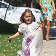 Anja déguisée en princesse le 16 septembre 2012 dans les rues de Brentwood