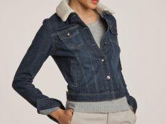 Must have : le blouson en jean au col moutonné