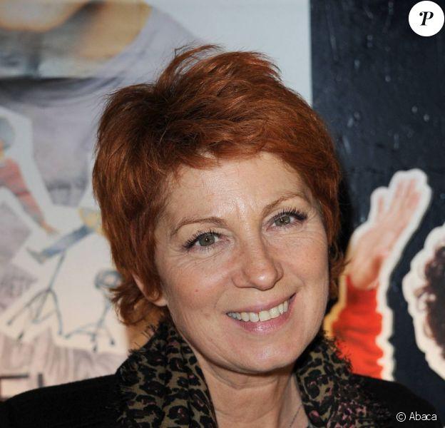 Véronique Genest à la première du spectacle de Michael Gregorio au Bataclan, le 21 octobre 2010.