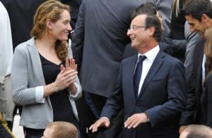 François Hollande reçoit les médaillés olympiques et récolte des sourires en or