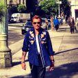 Johnny Hallyday immortalisé par Laeticia à Los Angeles, septembre 2012.