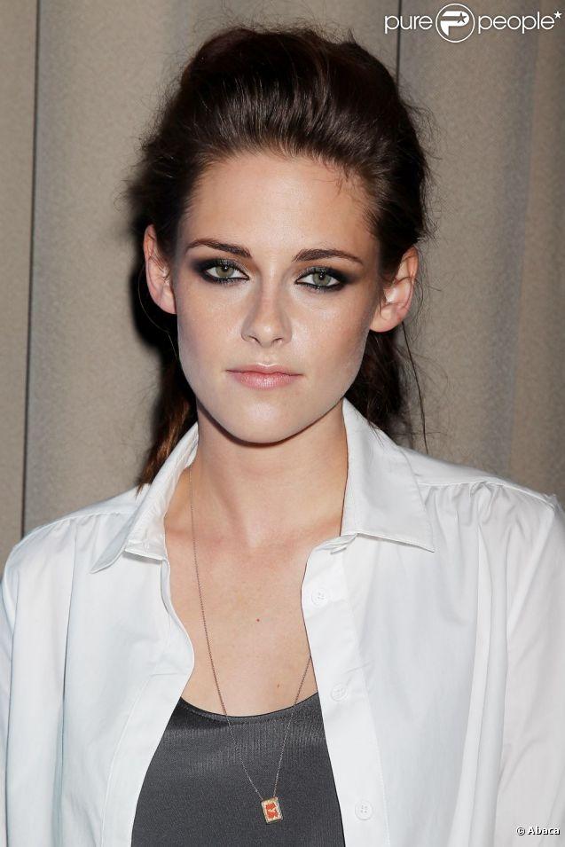 Kristen Stewart en septembre 2012 à New York.