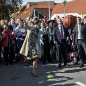 Princesse Mary : Une gracieuse basketteuse, sous l'oeil complice de Frederik