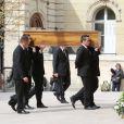 Obsèques de Pierre Mondy, en l'église Saint Honoré d'Eylau, le 20 septembre 2012