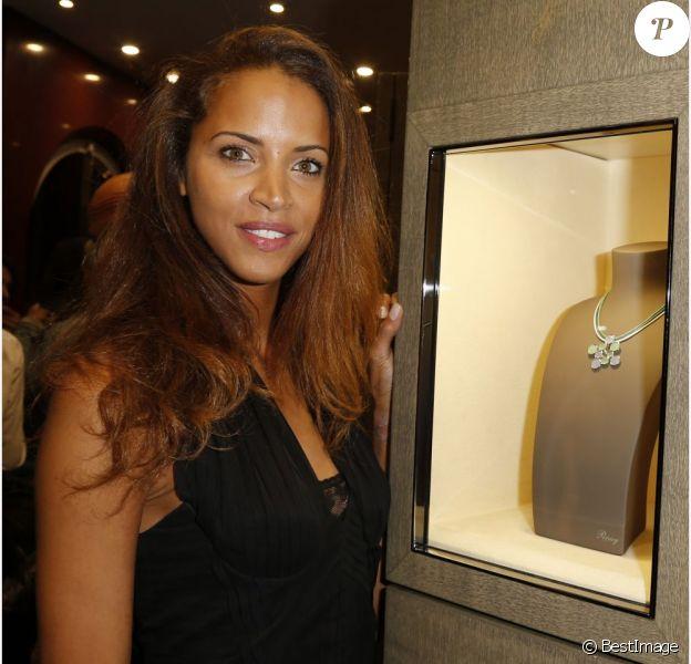 Noémie Lenoir lors de la soirée Poiray organisée à Paris le 20 septembre 2012