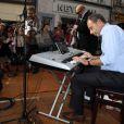 Jean-François Copé au piano le 22 septembre 2012 à Meaux lors des Muzik'Elles.