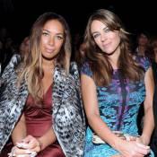 Liz Hurley et Leona Lewis, ravissantes pour boucler la Fashion Week de Milan
