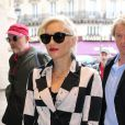 Gwen Stefani quitte Paris, le 25 septembre 2012.
