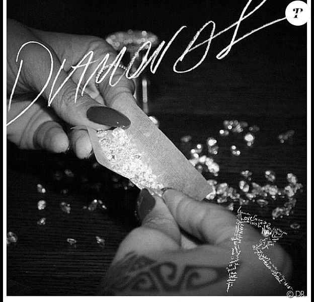 Rihanna - pochette du single Diamonds - setpembre 2012.